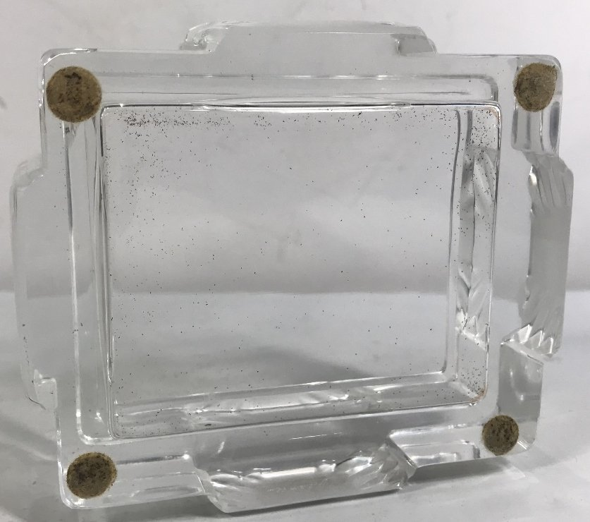 """Lalique box, """"Lalique France"""" - 5"""