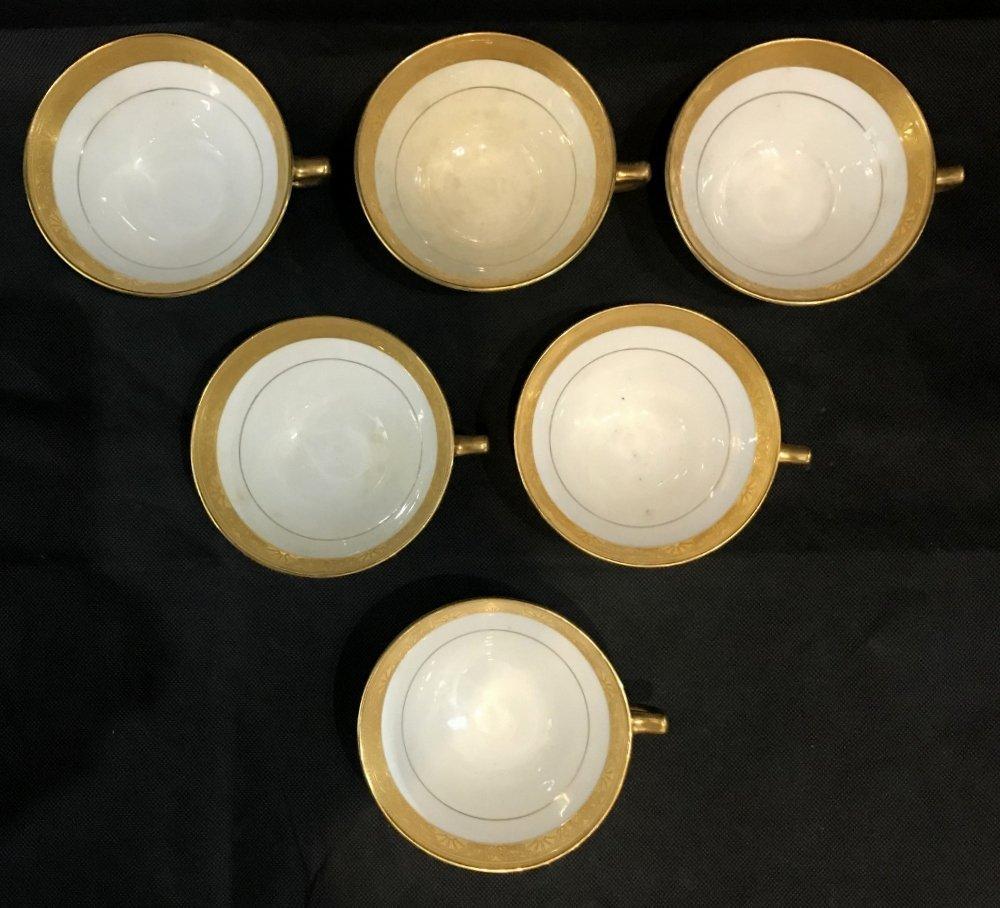 Set 6 Tiffany & Co Minton C&S, c.1900 - 8