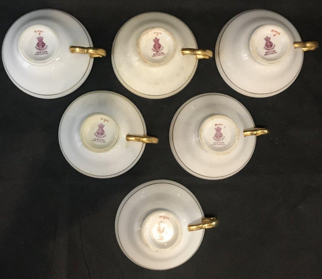Set 6 Tiffany & Co Minton C&S, c.1900 - 9