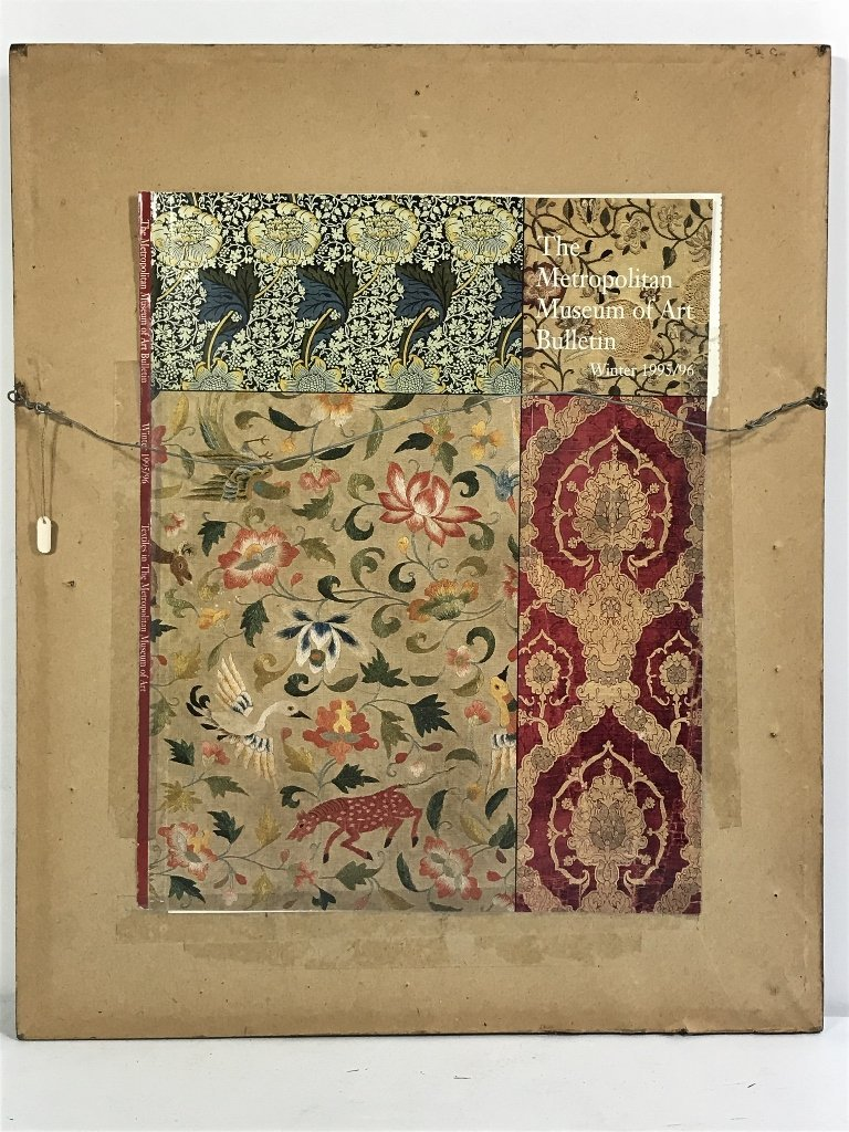Framed early textile, two pieces - 7
