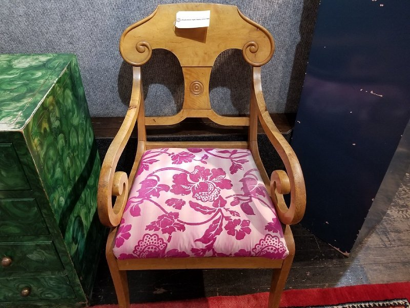 Two Biedermeier style chairs, circa 1900 - 4