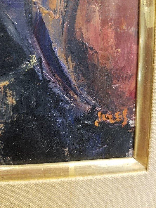 """Concert"", painting by Mervin Jules, c.1965 - 3"