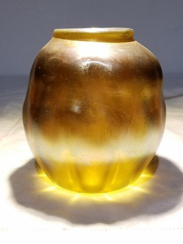 Louis Comfort Tiffany small jar, circa 1900