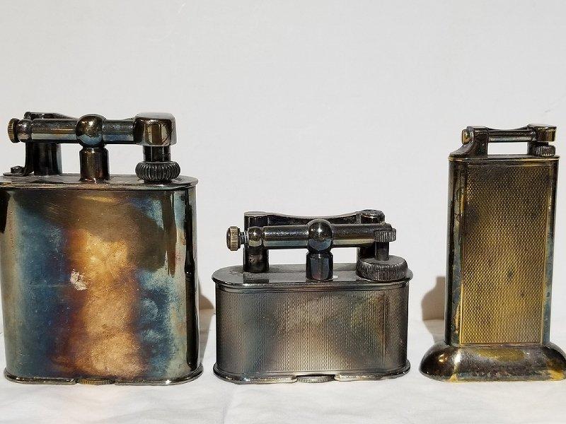 Three Dunhill lighters - 2