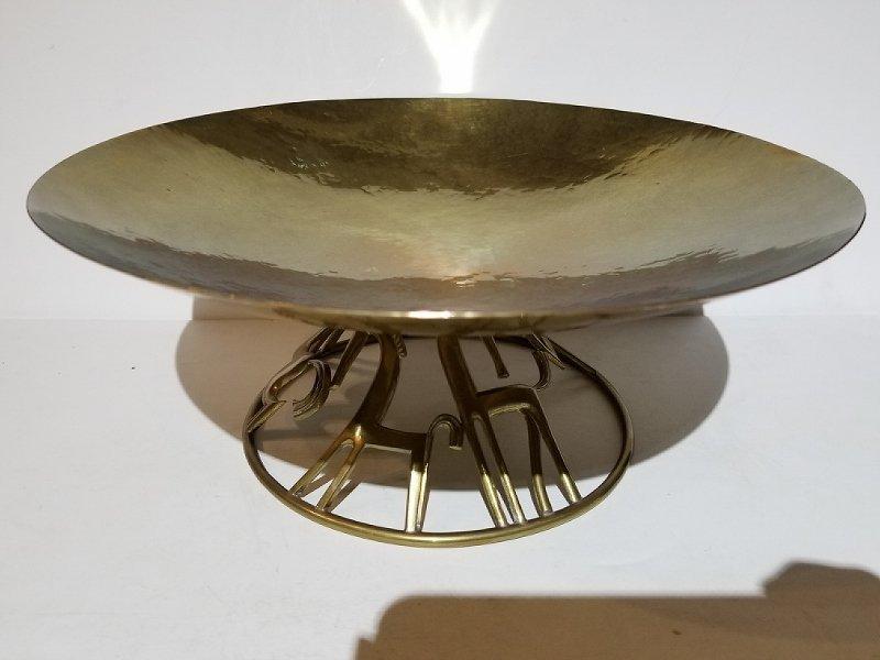 Hagenauer brass bowl