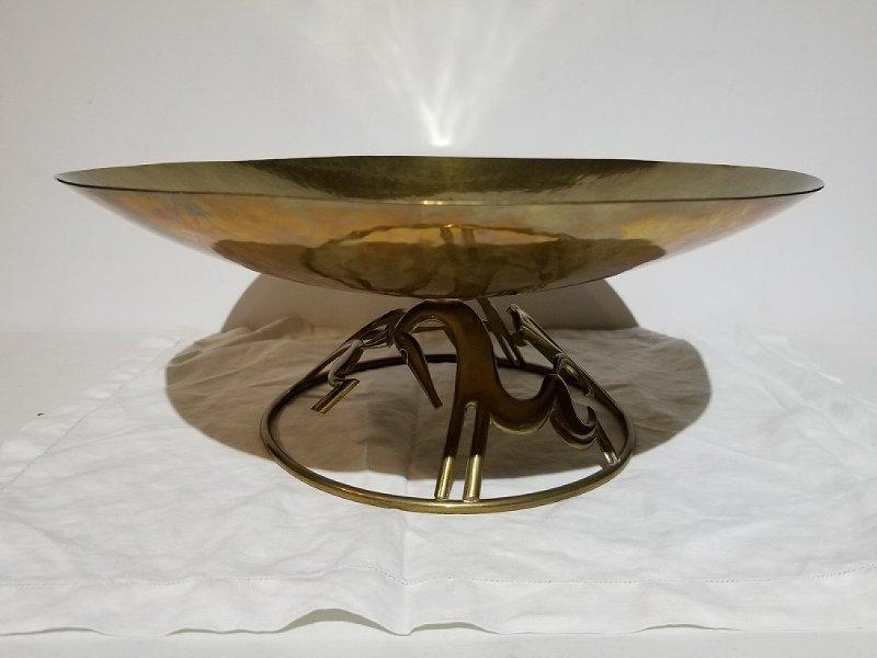 Hagenauer brass bowl - 2