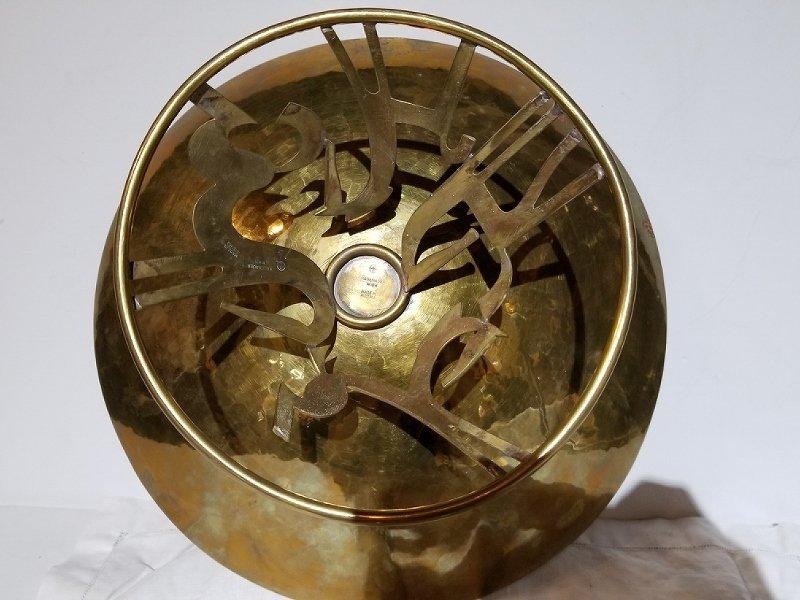Hagenauer brass bowl - 5