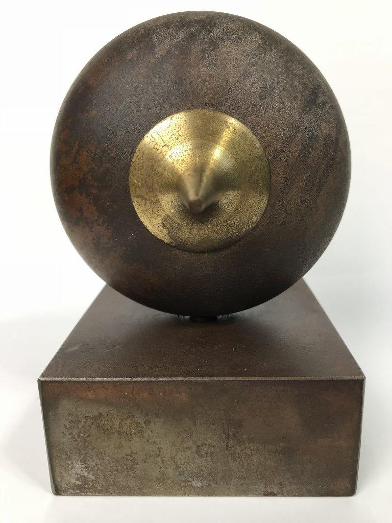 Signed modern bronze, by Yardena Dankner