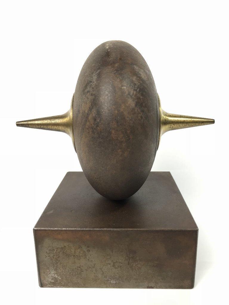 Signed modern bronze, by Yardena Dankner - 3