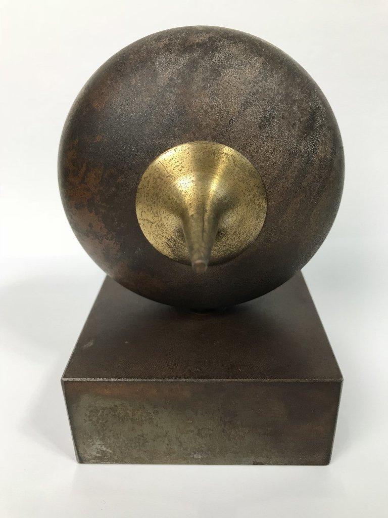 Signed modern bronze, by Yardena Dankner - 4