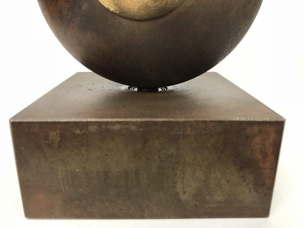 Signed modern bronze, by Yardena Dankner - 7