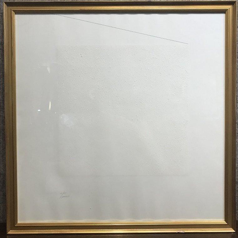 Silkscreen by Robert Ryman-Whitney Museum