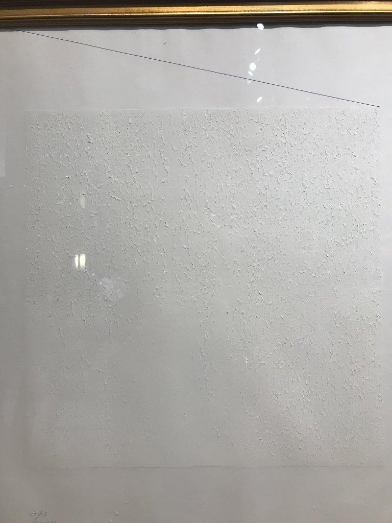 Silkscreen by Robert Ryman-Whitney Museum - 3