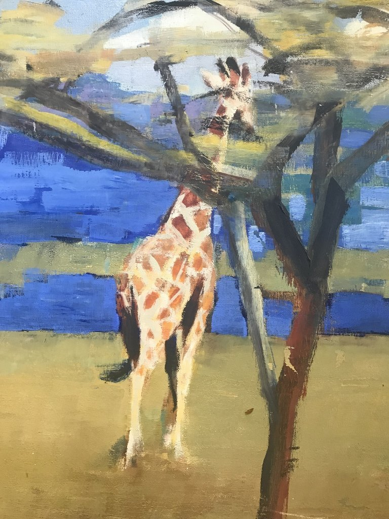 Painting of Africa by Timothy Brooke - 4