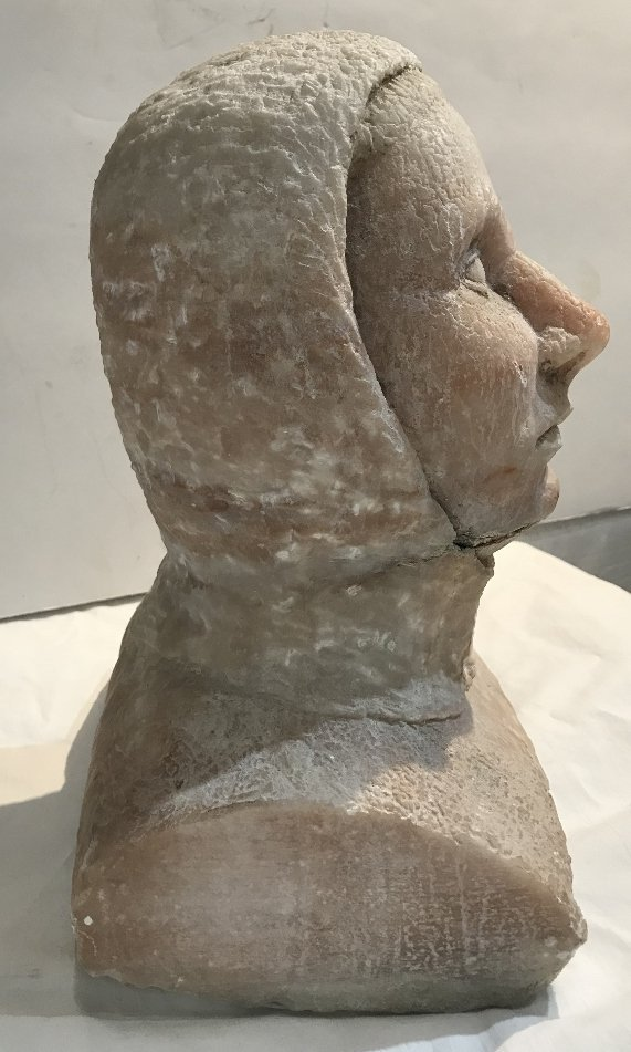 Stone sculpture of medieval knight of the 12th cen or.. - 3