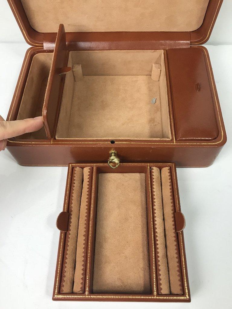 Bergdorf Goodman leather jewelry box - 4