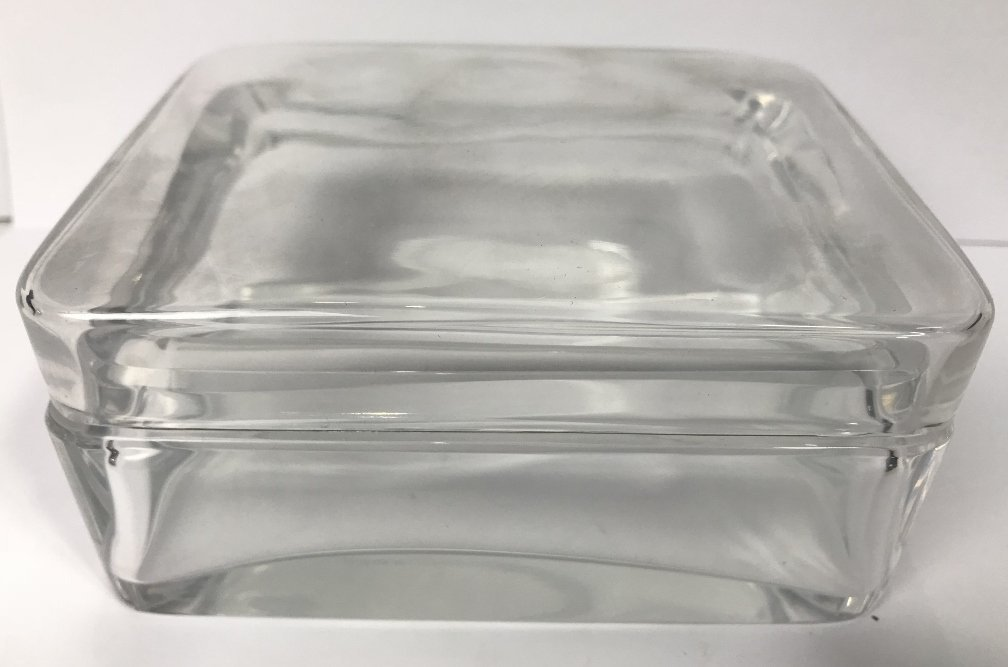 Baccarat crystal box