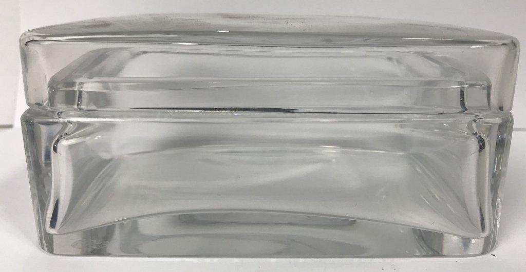 Baccarat crystal box - 3
