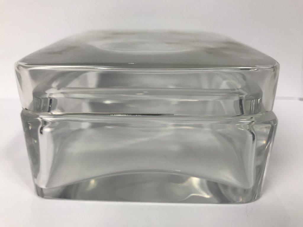 Baccarat crystal box - 4