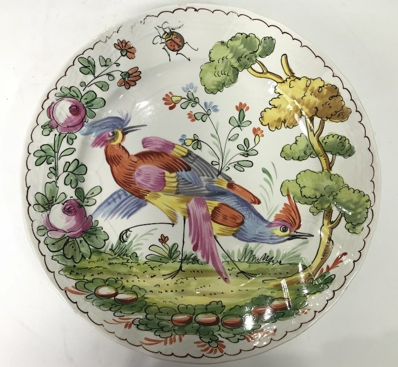 Five French plates - 3