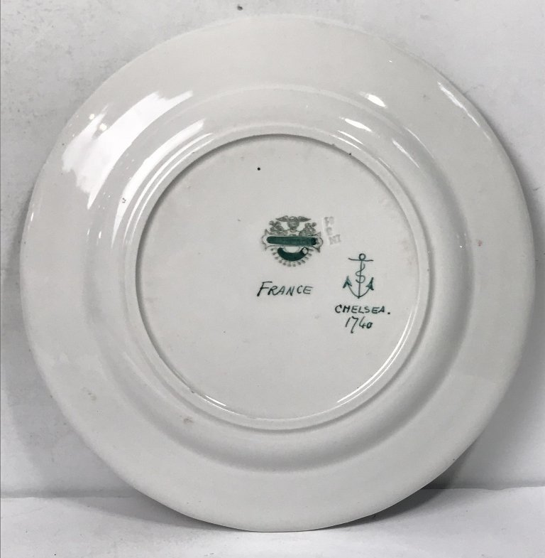 Five French plates - 5