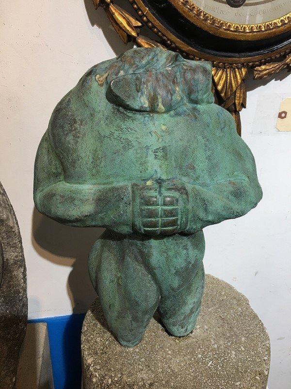 Bronze of Lioness Demon(Shiv Dir), Ronald Street