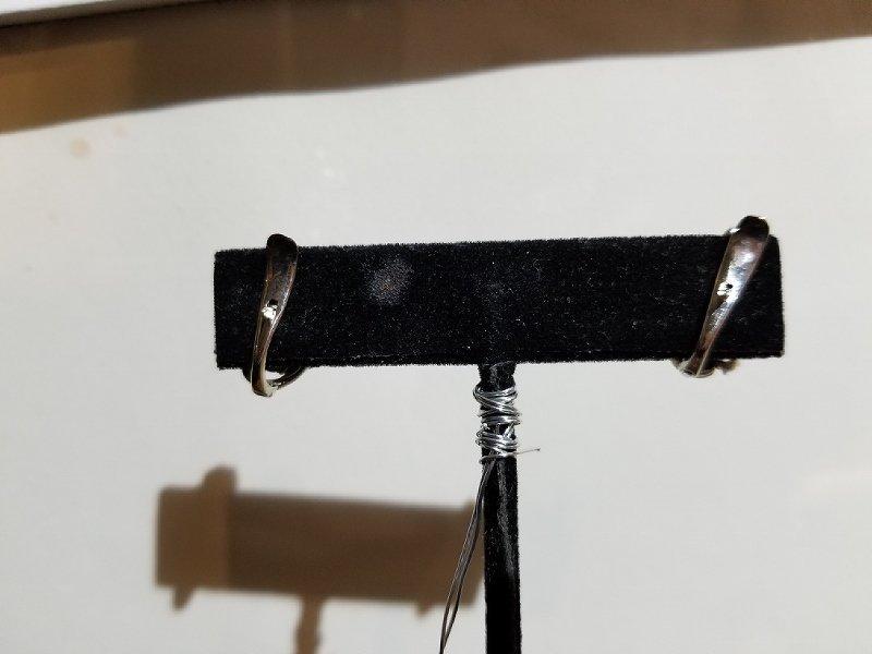 18k diamond clip earrings, 3.2 dwts - 2