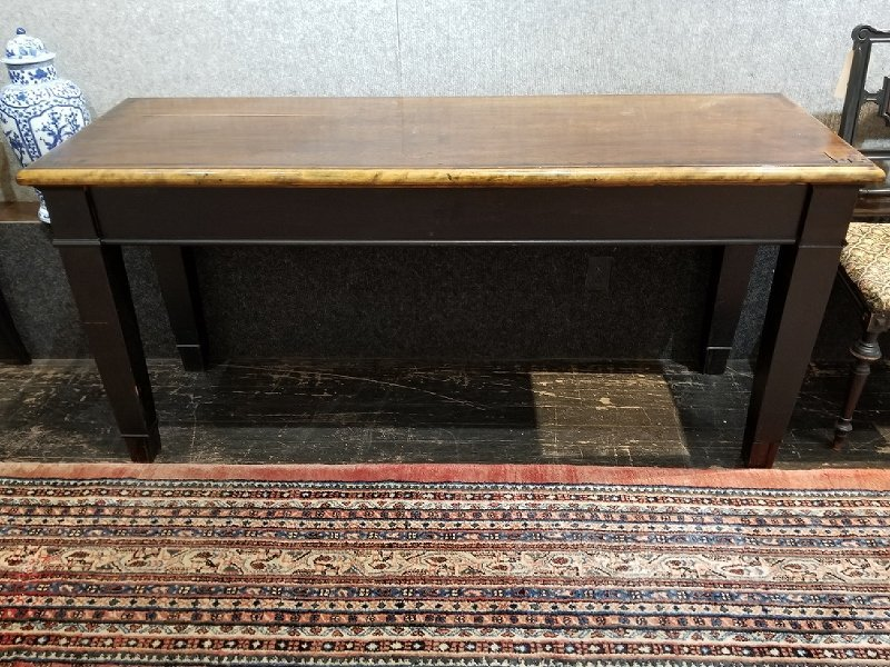 Wood country table, circa 1900