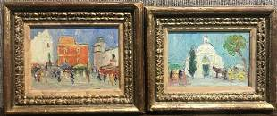 Two Impressionist ptgs, signed