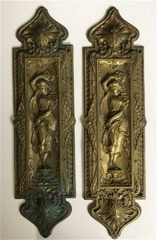 Architectural brass items(2)