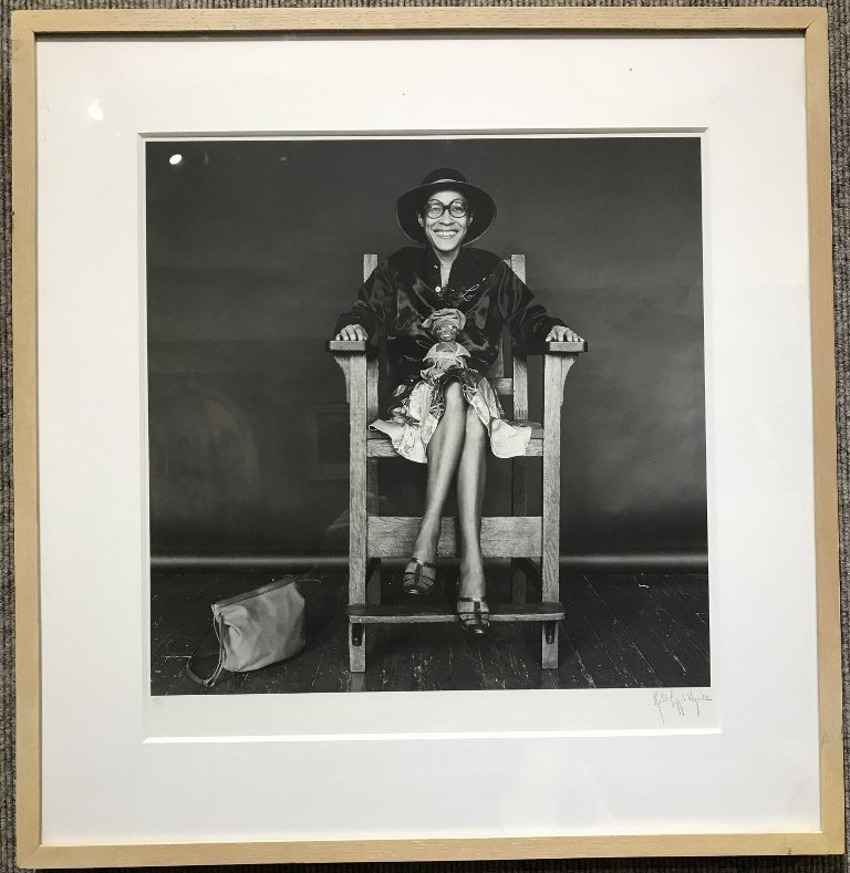 Photograph of Dorothea Dean by Robert Mapplethorpe