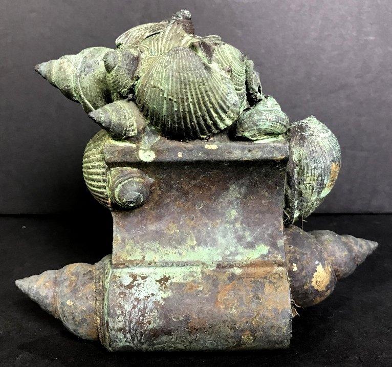Shell bronze by Ronald Street, circa 1970.