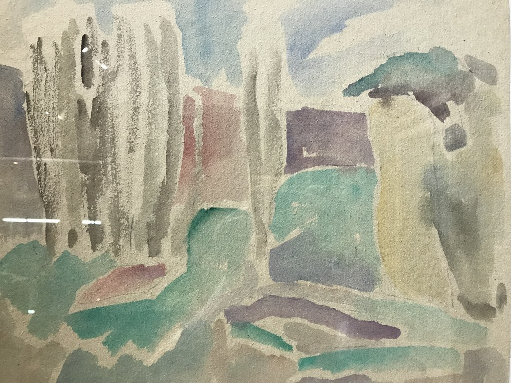 Watercolor of landscape by Yuri Larin-Ambassador - 2