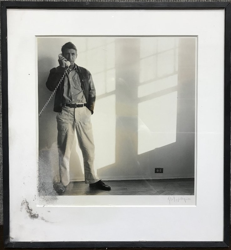 Photograph of Norman Fisher by Mapplethorpe
