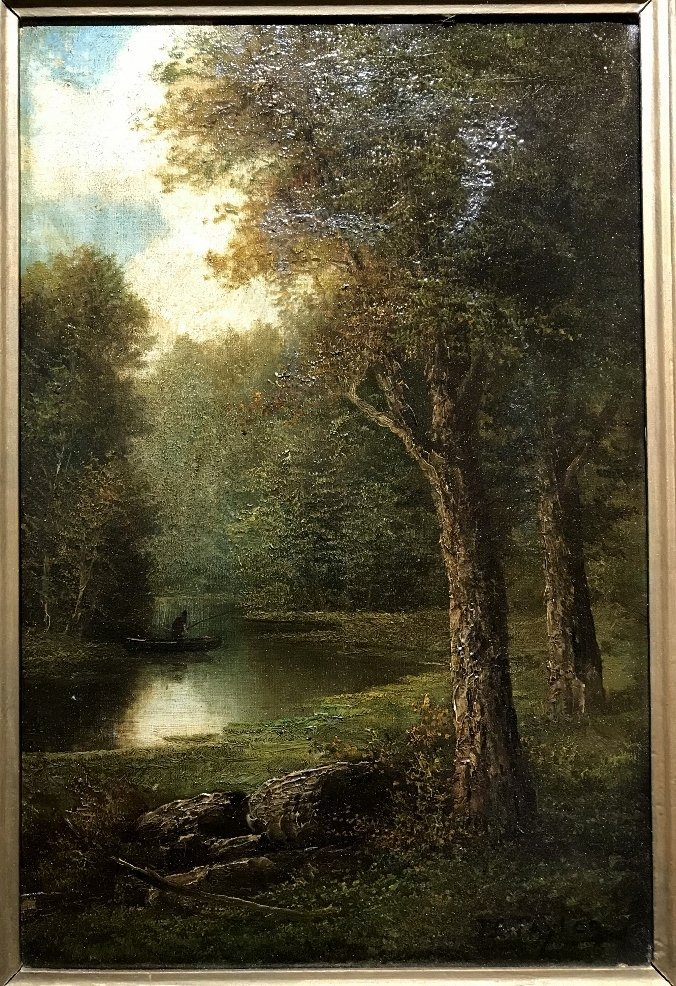 Painting of wood by T C Taylor, circa 1890 - 3