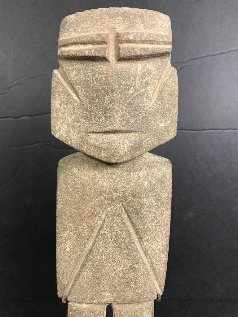 Carved stone figure, Hunt Fine Arts - 2