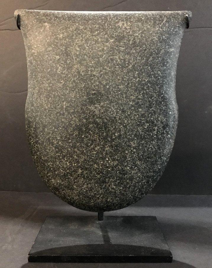 Carved stone tablet, Hunt Fine Arts