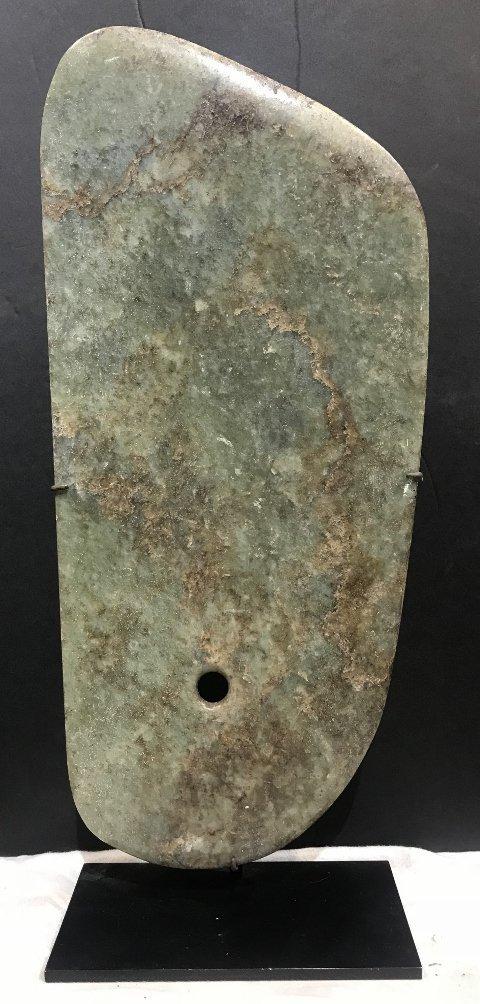 Jade plaque, Hunt Fine Arts