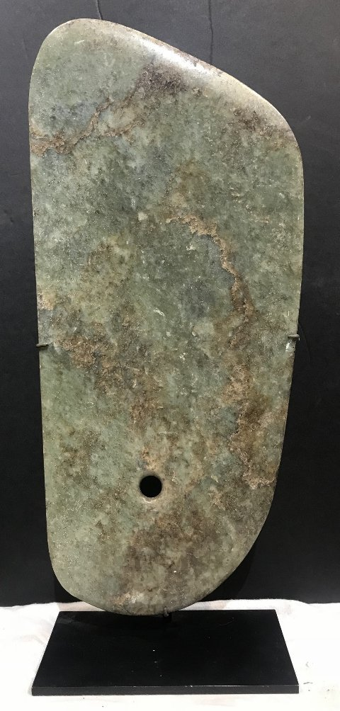 Jade plaque, Hunt Fine Arts