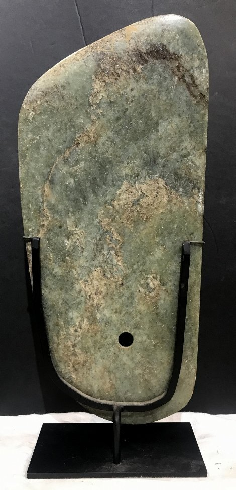 Jade plaque, Hunt Fine Arts - 6