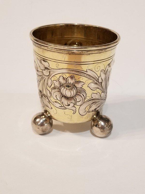 Silver wine cup, c.1900, 4.4 t. oz
