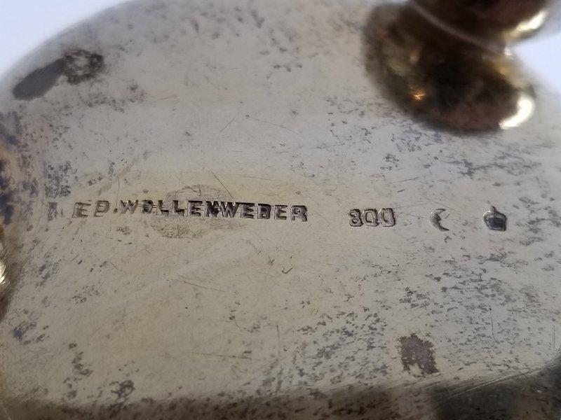 Silver wine cup, c.1900, 4.4 t. oz - 3