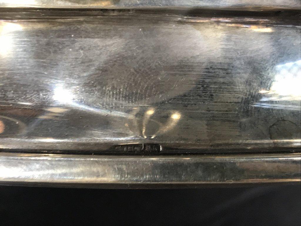 Silver Torah crown by Ludwig Wolpert, 79.6 t. oz - 3