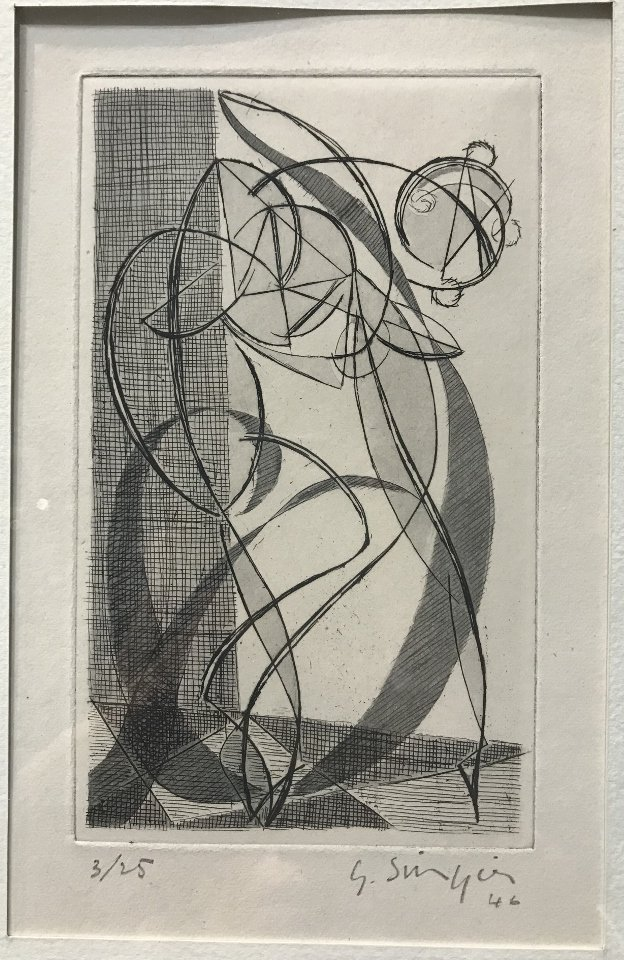 Etching by Gustave Singier - 3