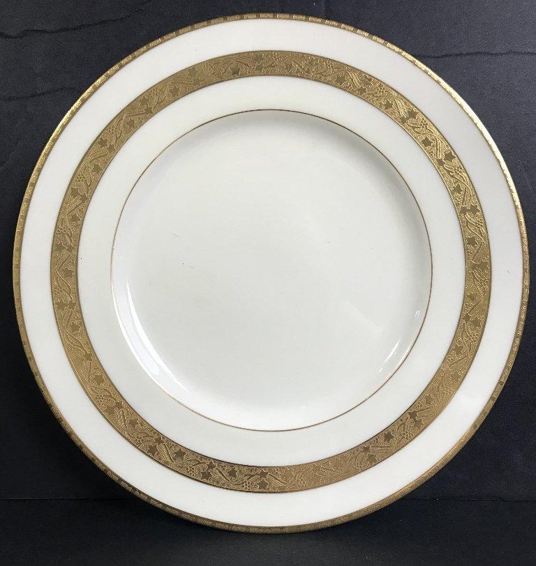 Eight Tiffany & Co Minton plates