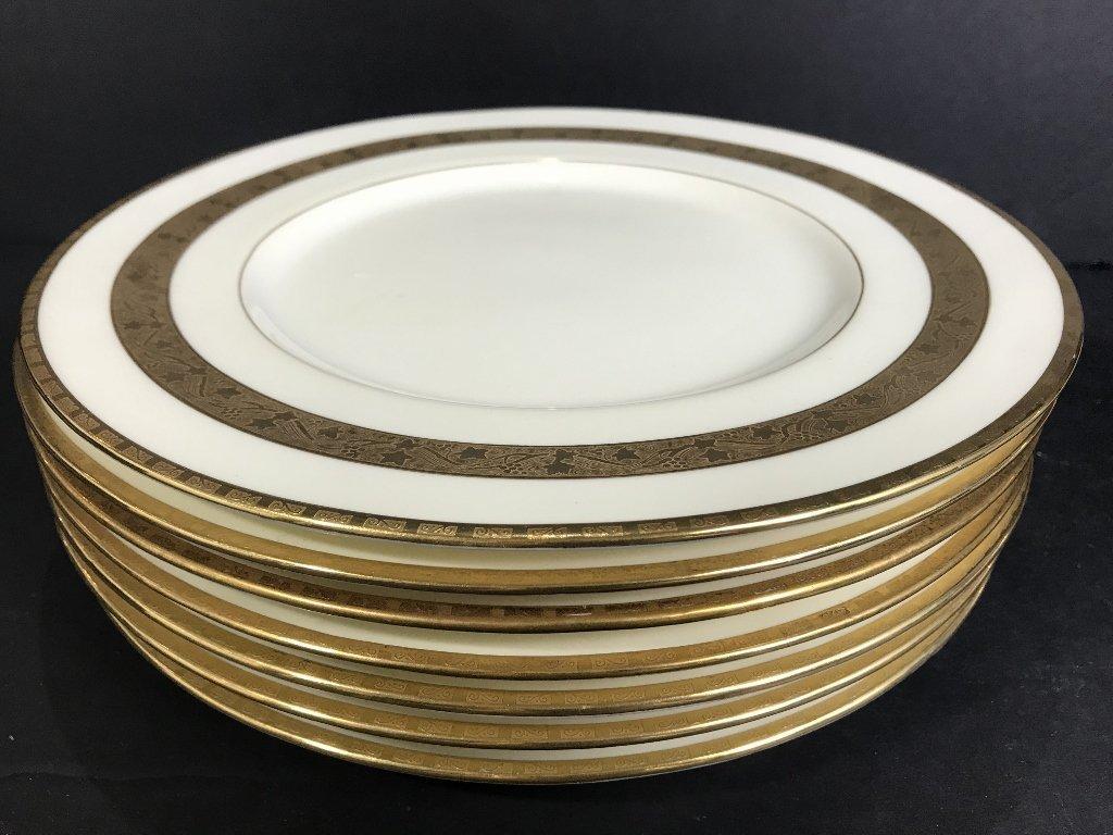 Eight Tiffany & Co Minton plates - 2