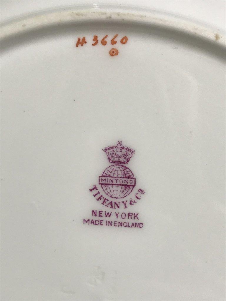 Eight Tiffany & Co Minton plates - 3