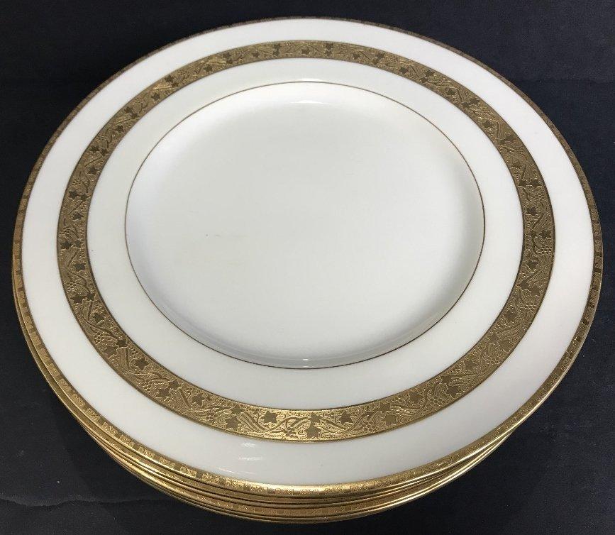 Eight Tiffany & Co Minton plates - 4
