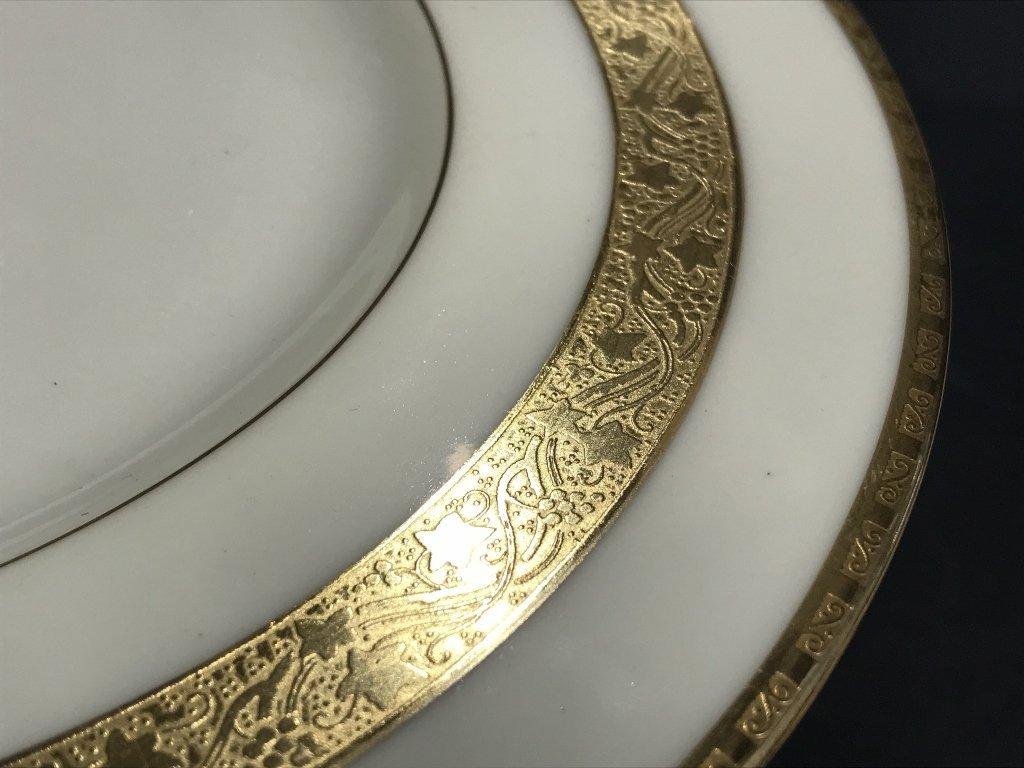 Eight Tiffany & Co Minton plates - 6
