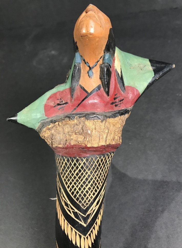 Native American club - 3